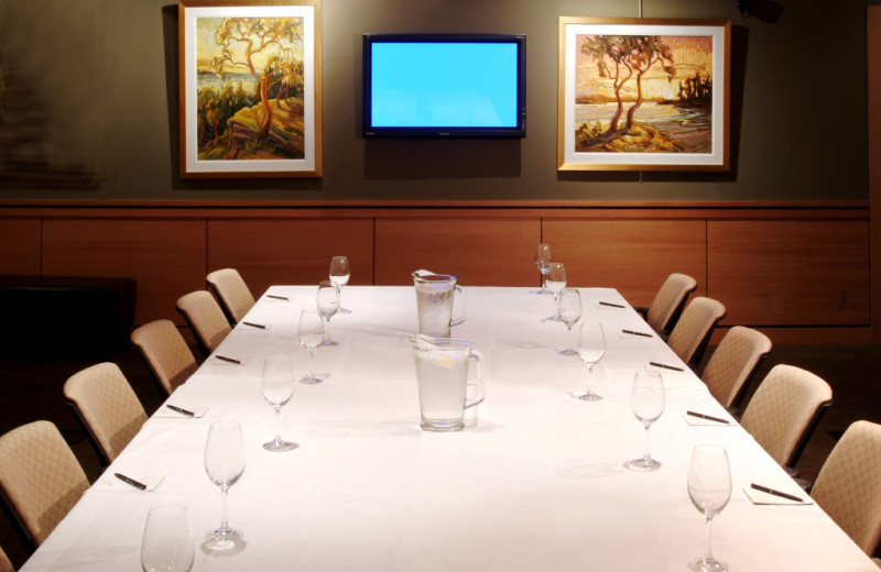 Meeting Room at Brentwood Bay Lodge