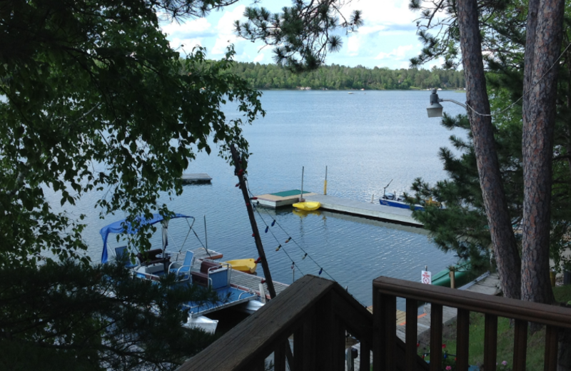 View of the Lake from Beauty Bay Lodge & Resort