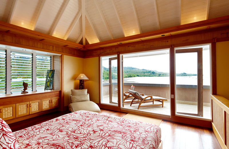 Streamside Bedroom at Koro Sun Resort
