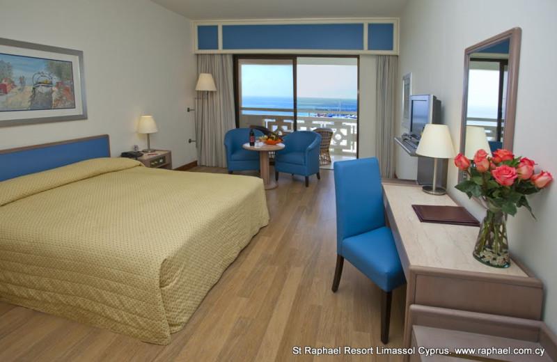 Guest room at St Raphael Resort.