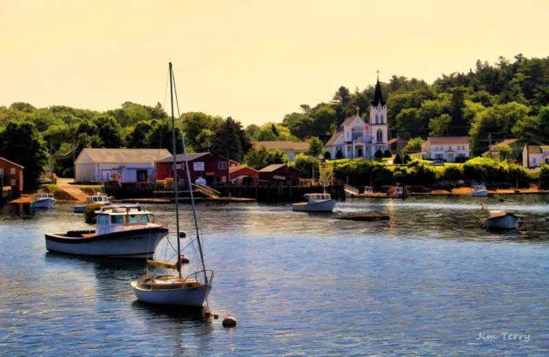 Boothbay Harbor Near Harbour Towne Inn.