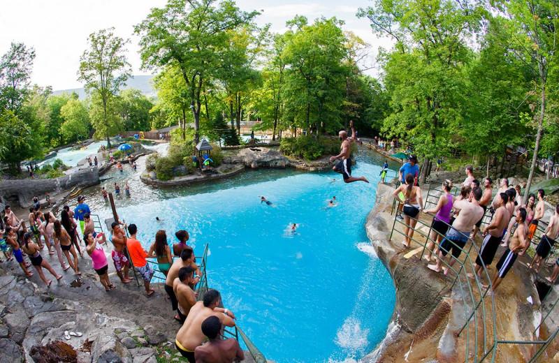 Water park at Mountain Creek Resort.