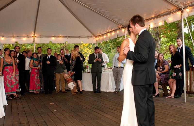 Wedding Dance at Montfair Resort Farm