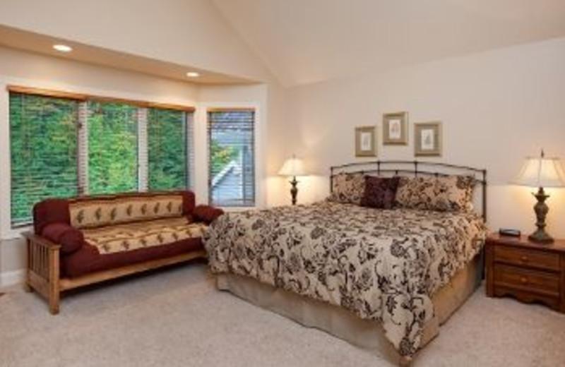 Condo Bedroom at Treetops Resort
