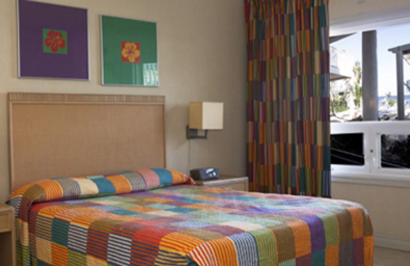 Guest room at Cobalt Coast Resort.