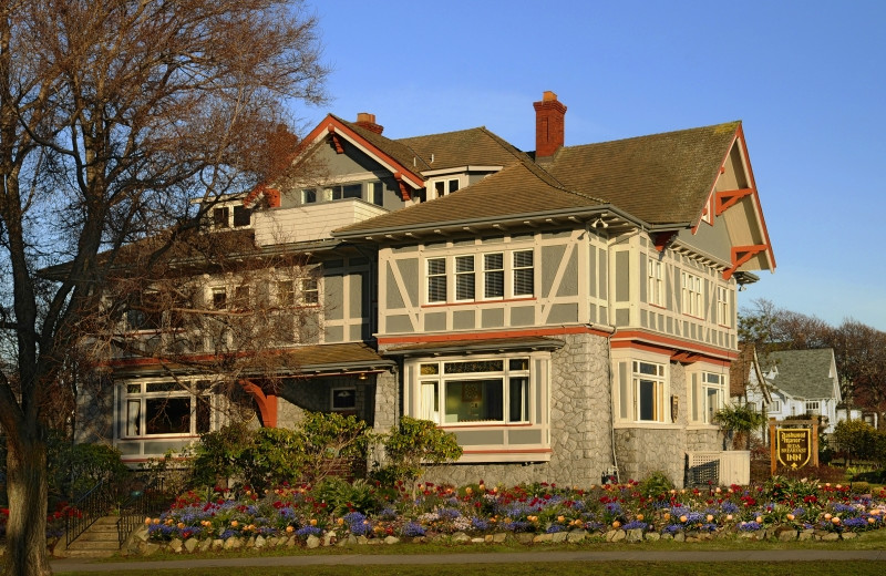 Exterior view of Victoria's Historic Inns.