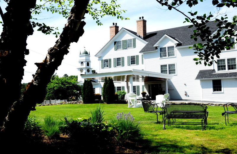 Exterior view of Old Lyme Inn.