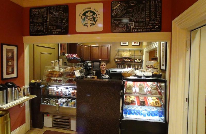 Cafe at Villa Roma Resort.