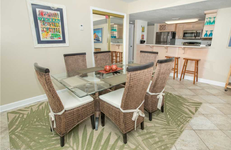 Dining at Holiday Isle Properties - Holiday Surf & Racquet 614.