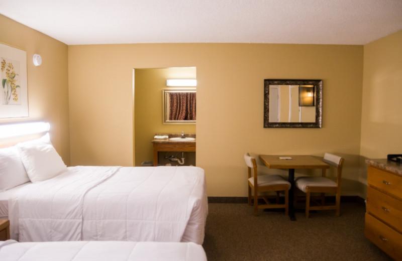 Guest room at Bright Leaf Golf Resort.