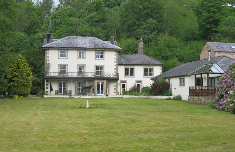 Exterior view of Lovelady Shield Country House Hotel.
