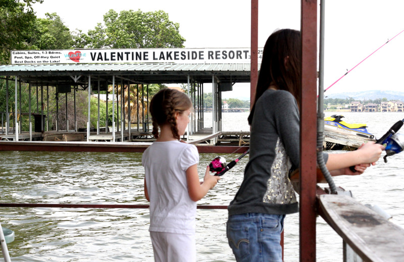Build memories with your kids of fishing at Valentine Lakeside.