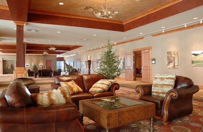 Lobby view at Hilton Garden Inn Missoula.