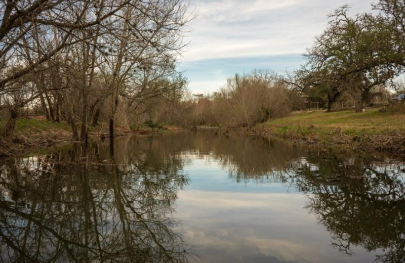Pond view of Barons Creekside.