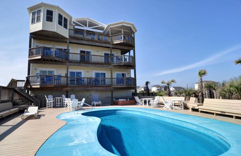 Rental pool at Treasure Realty.