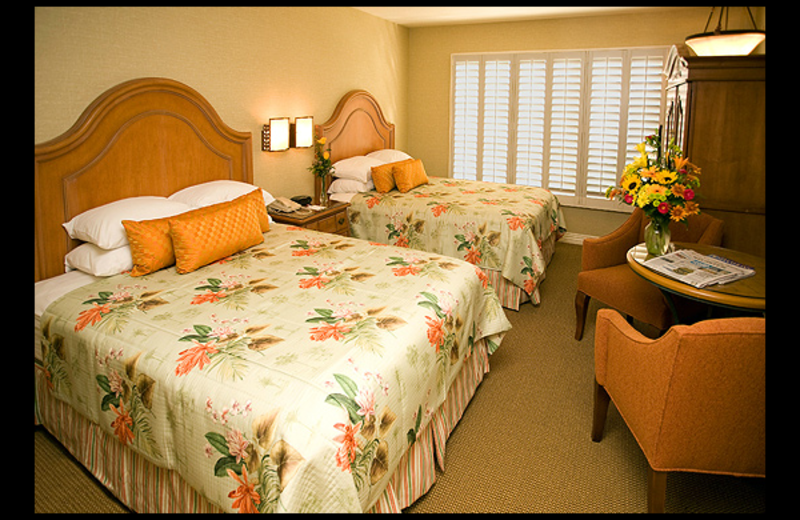 Guest room at Candy Cane Inn.
