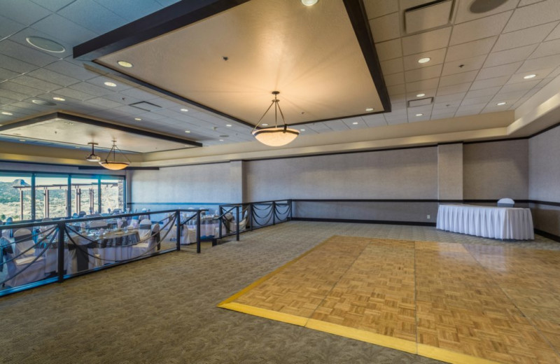 Ballroom at Prescott Resort & Conference Center.