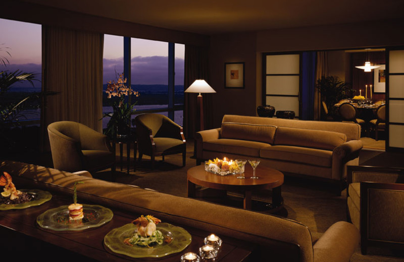 Jimmy Carter suite at Omni San Diego Hotel.