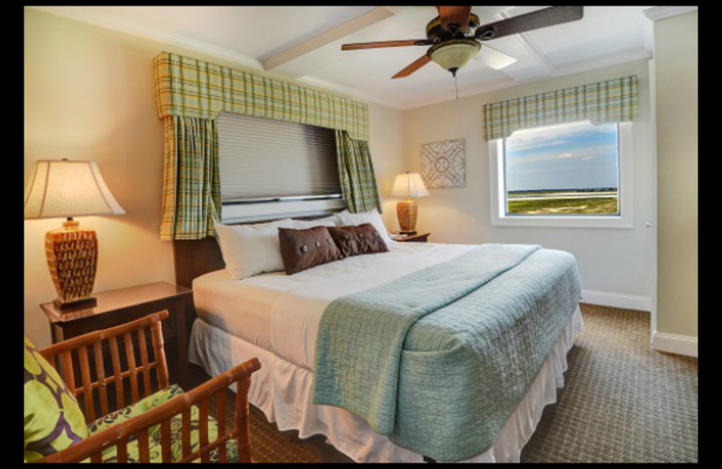 Guest room at Shell Island Resort.