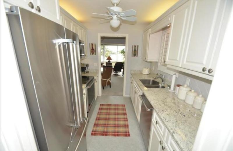 Rental kitchen at Phase III Real Estate.