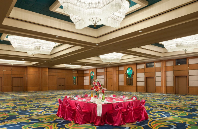 Reception at Moody Gardens Hotel Spa & Convention Center.