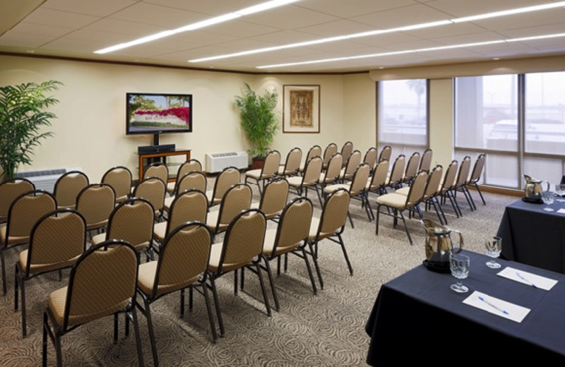 Conference room at Bay Club Hotel.