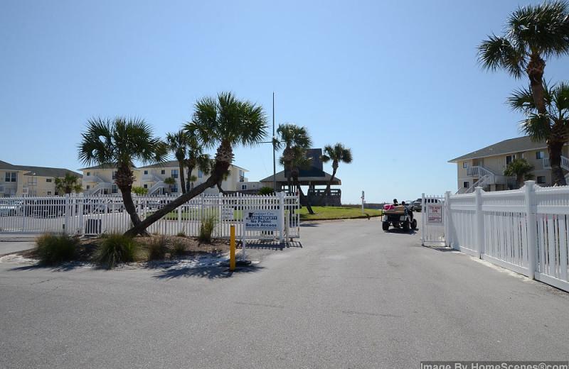 Gates at Sandpiper Cove.