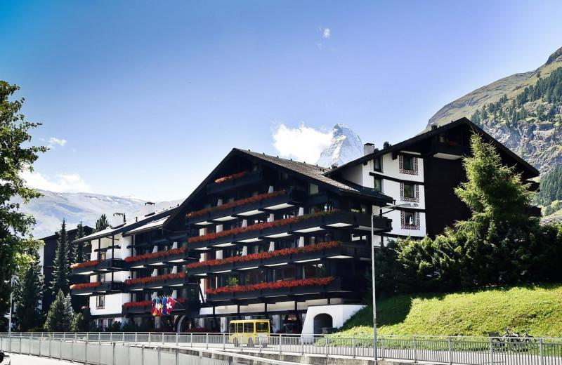 Exterior view of Alpenhof.
