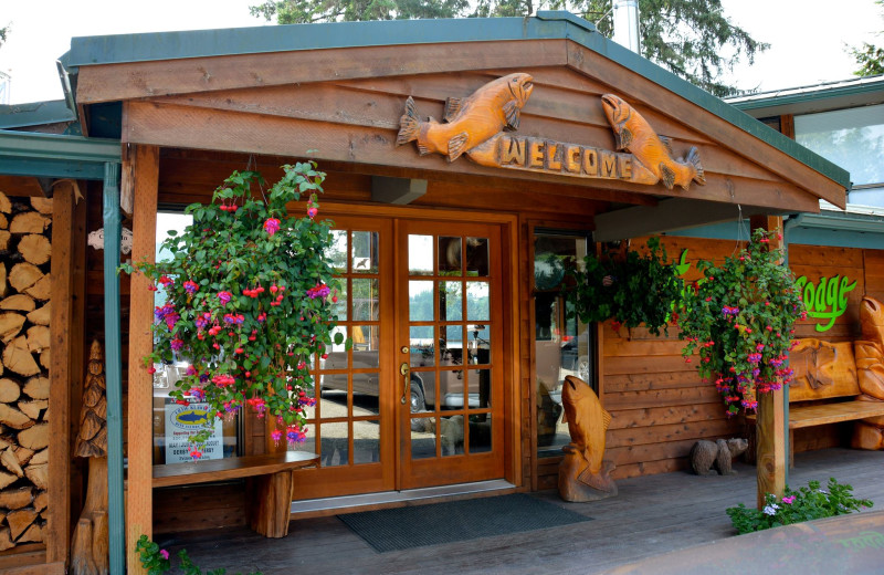 Exterior view of The Fireweed Lodge.