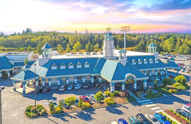 Exterior view of Skagit Valley Casino Resort.