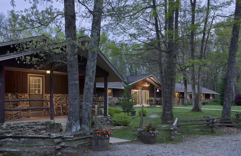 Exterior view of Caryonah Hunting Lodge.