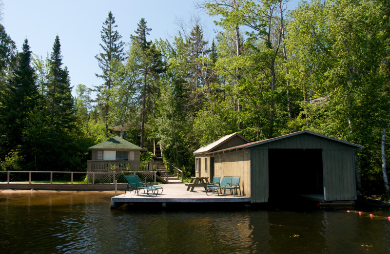 View of Southshore Cabin from Lake