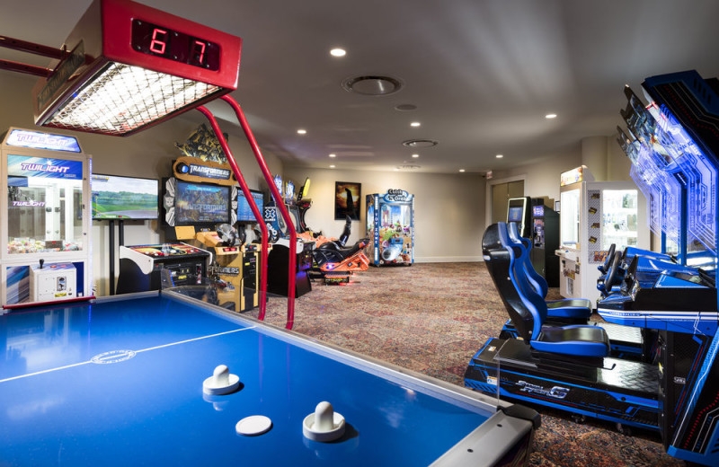 Game room at Trump National Doral Miami.