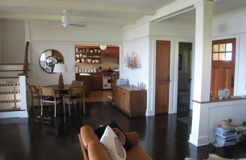 Vacation rental interior at Shorecrest Property Management & Real Estate.