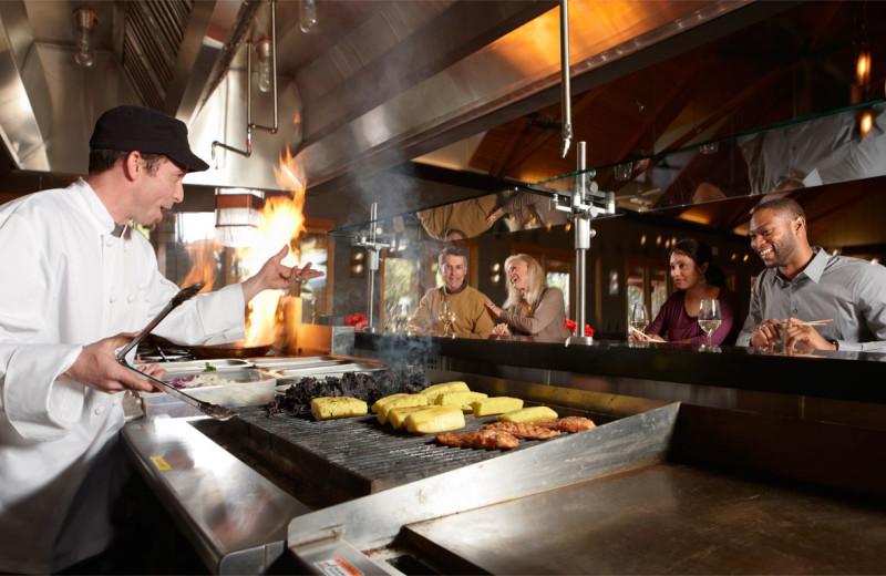 Exposition kitchen at Travaasa Austin.