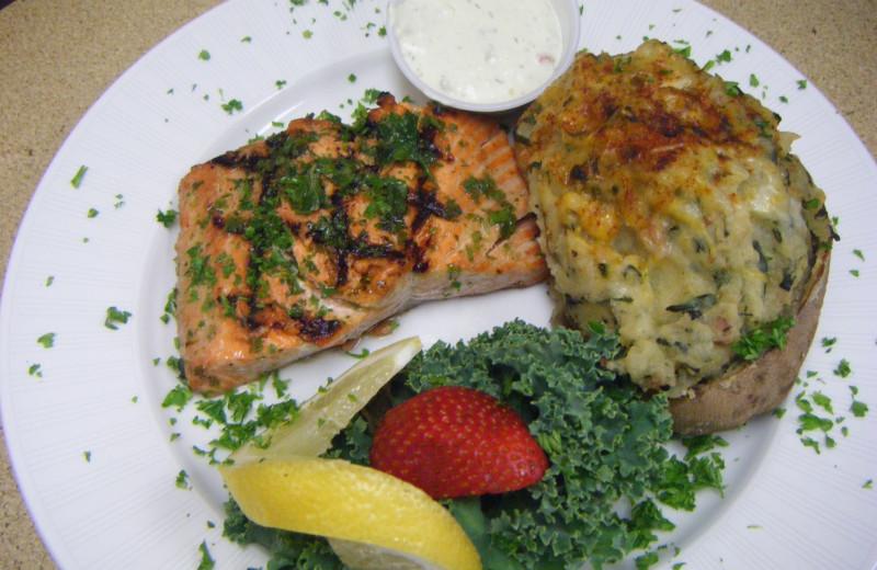 Cuisine at Silver Beach Resort.