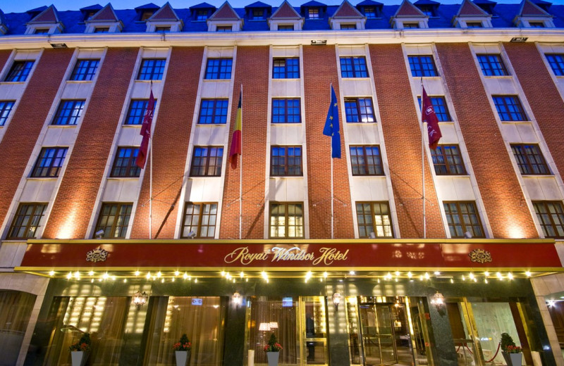 Exterior view of Royal Windsor Hotel - Grand Place.