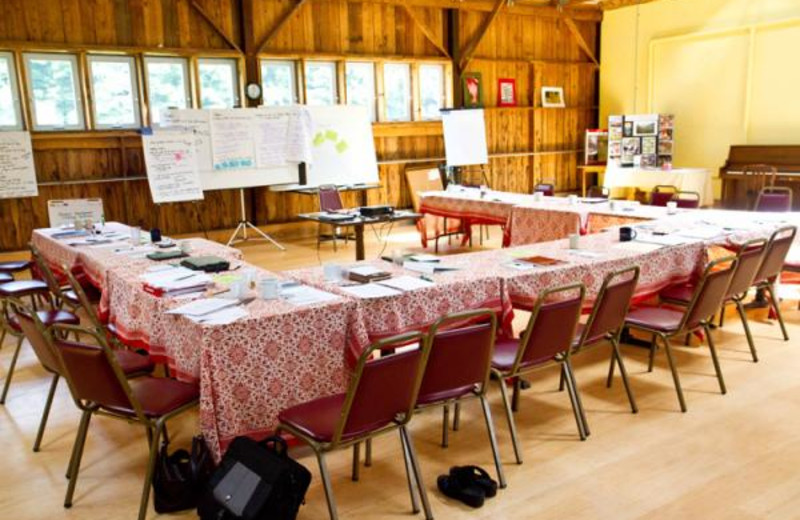 Conference retreat at Common Ground Center.