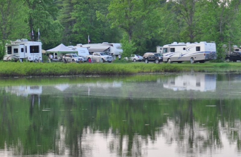 Lakeside Camping at Lake George Escape