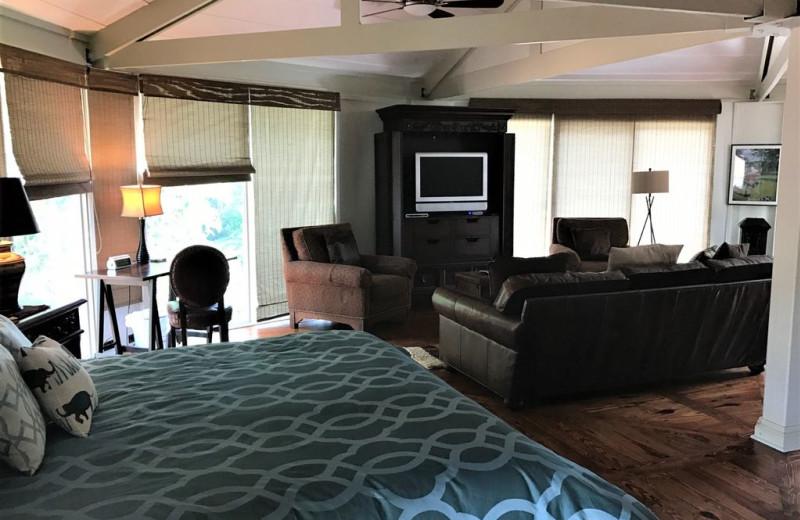 Rental interior at Sandhills Rentals.