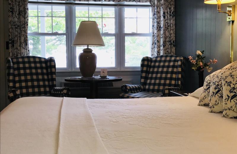 Guest room at Mount Battie Motel.