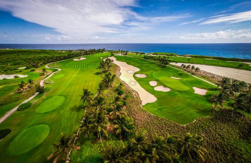 Golf course at Punta Cana Resort & Club.