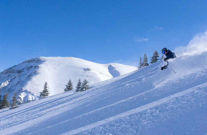 Skiing near Accommodations in Telluride.
