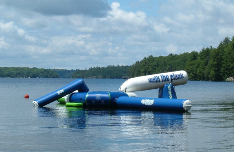 Water activities at Paquana Cottage Resort.