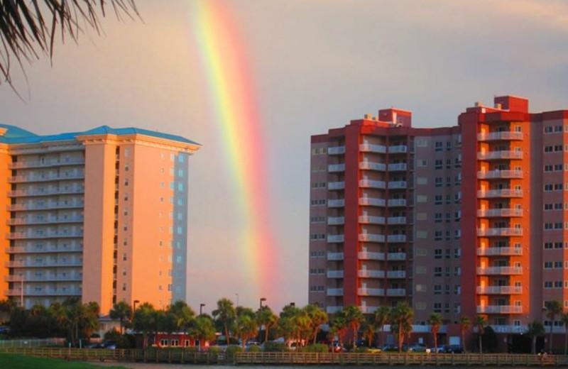 Rainbow at Seascape Resort.