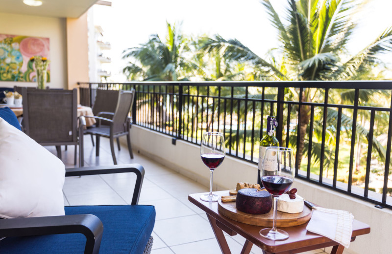 Rental balcony at La Isla - Vallarta.