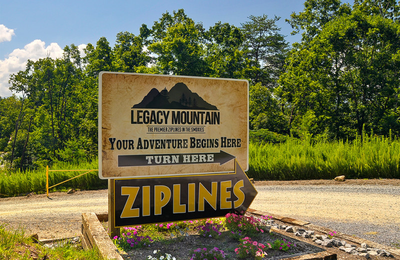 Legacy Mountain Ziplines are privately owned and operated.