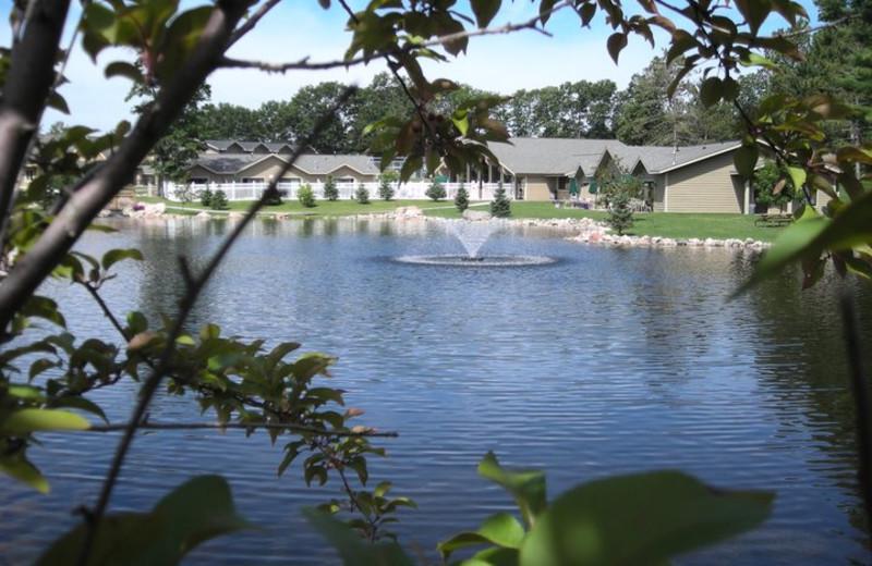 External view of Kavanaugh's Sylvan Lake Resort.