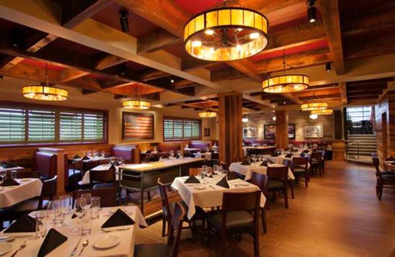 Dining at Hilton President Kansas City.