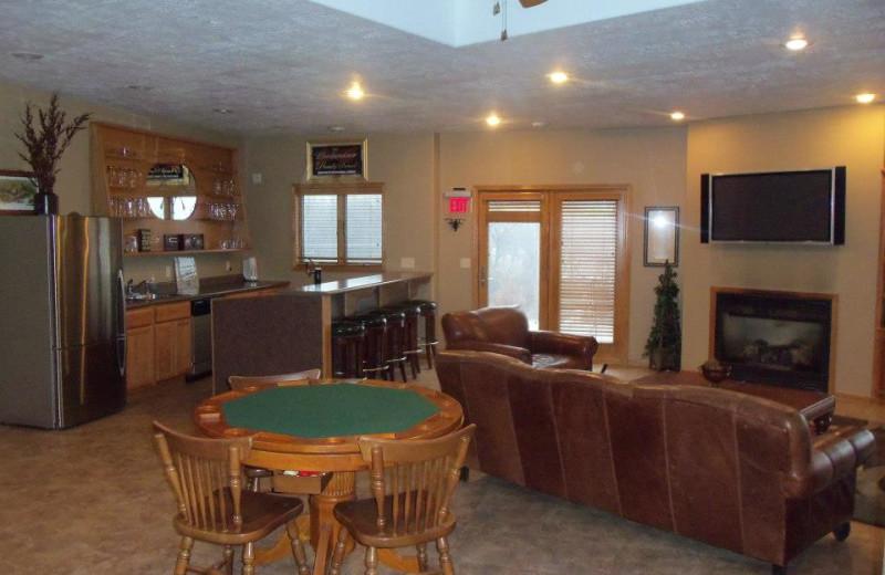 Family room at Granite Springs Lodge.